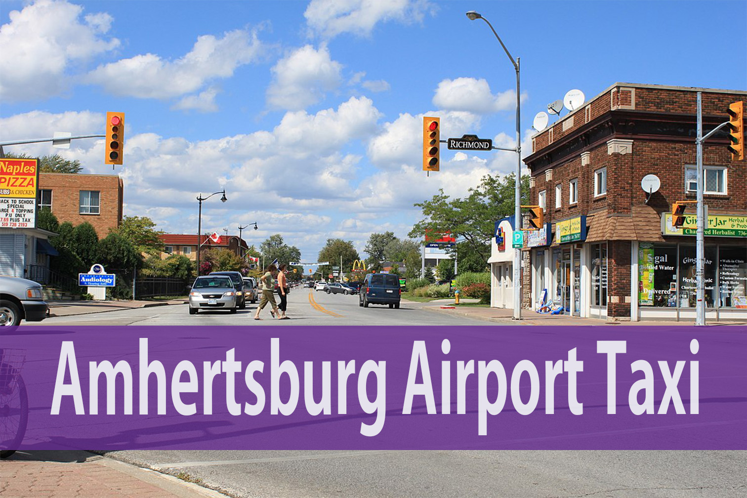 Amhertsburg airport taxi