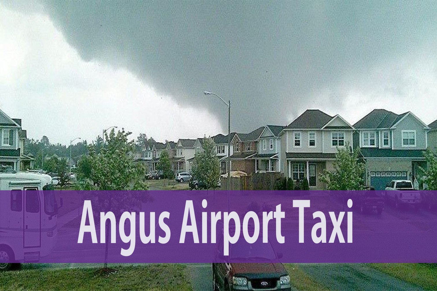 Angus airport taxi