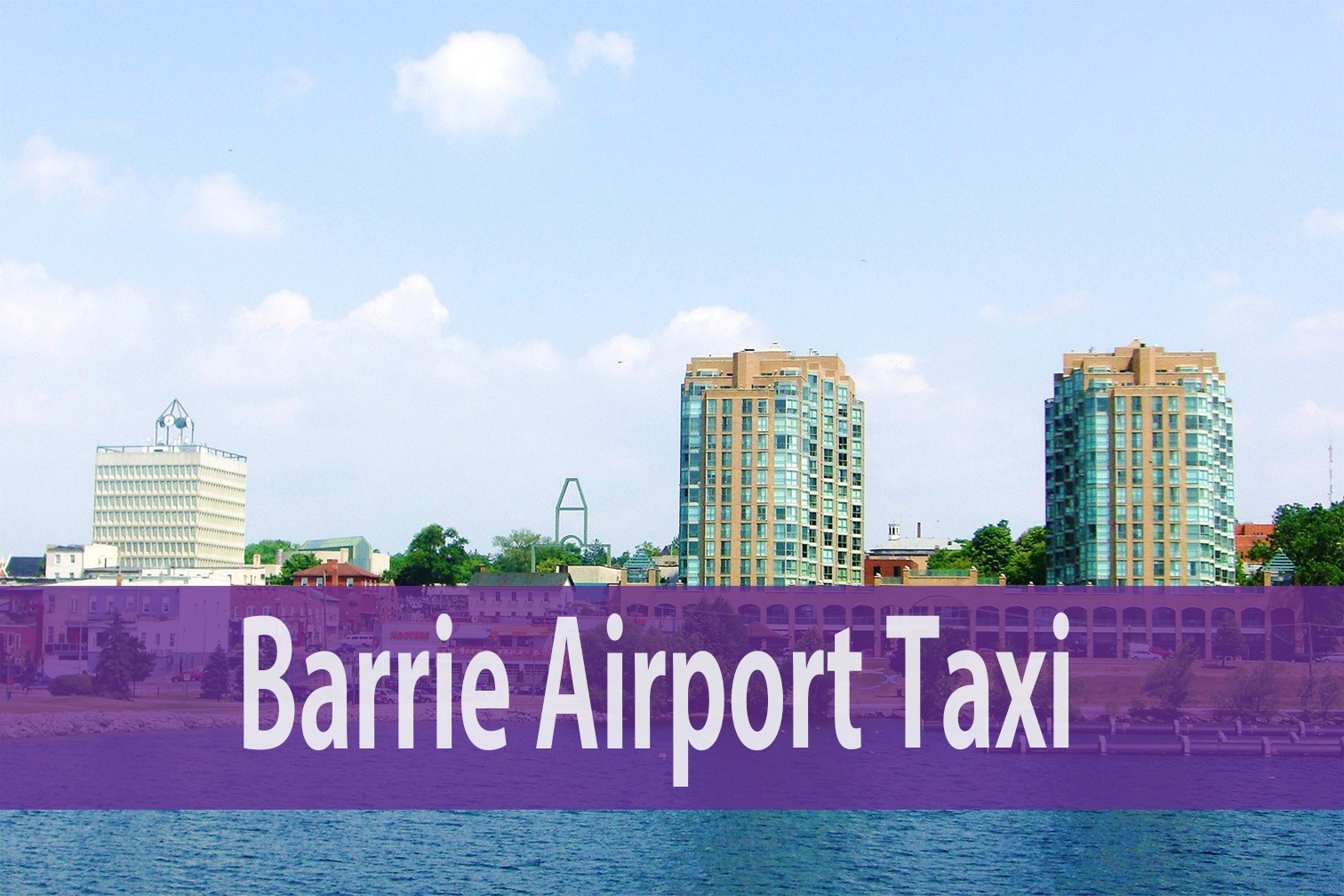 Barrie Airport Taxi