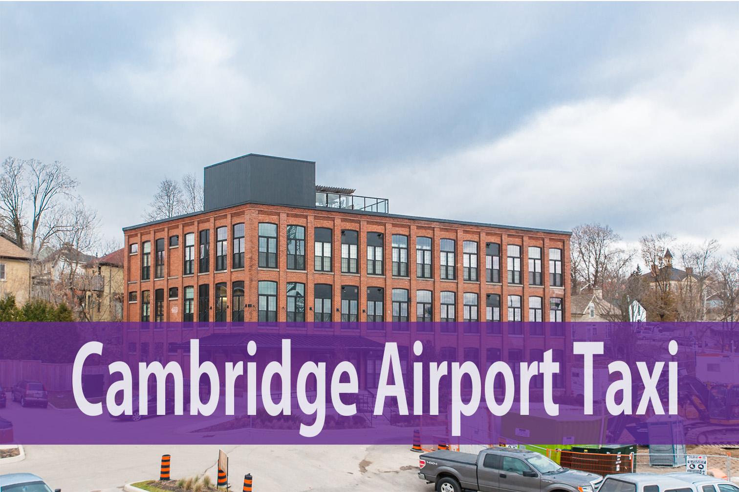 Cambridge Airport Taxi